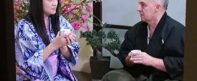 Hanshi Tomasz Piotrkowicz w telewizji