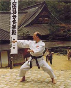mistrz karate kobudo