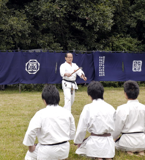 kobudo karate budo traditional enbu