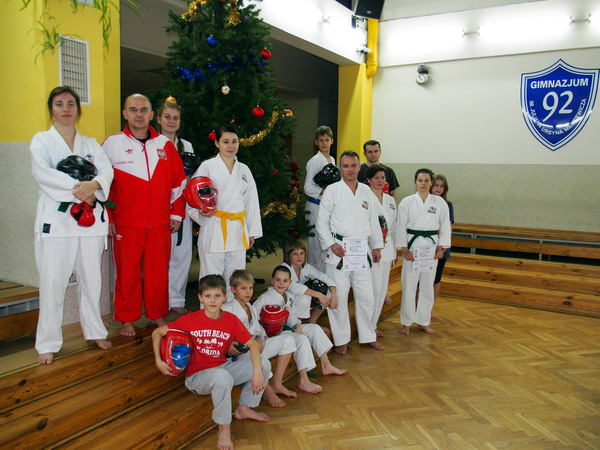 christmas karate warsaw