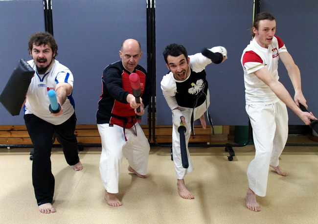 kumite kobudo walka bronią szermierka samurajska bojutsu chanbara