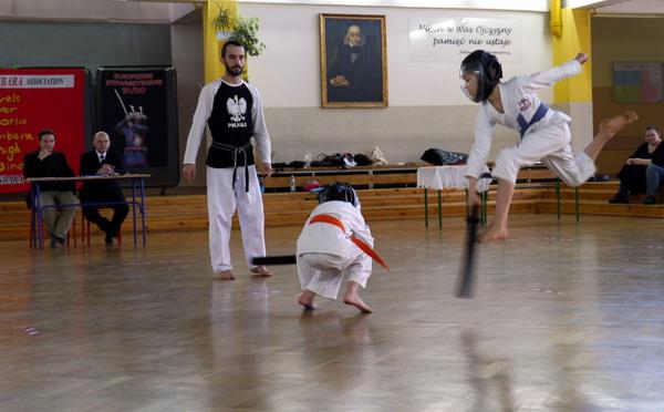 karate chanbara dzieci