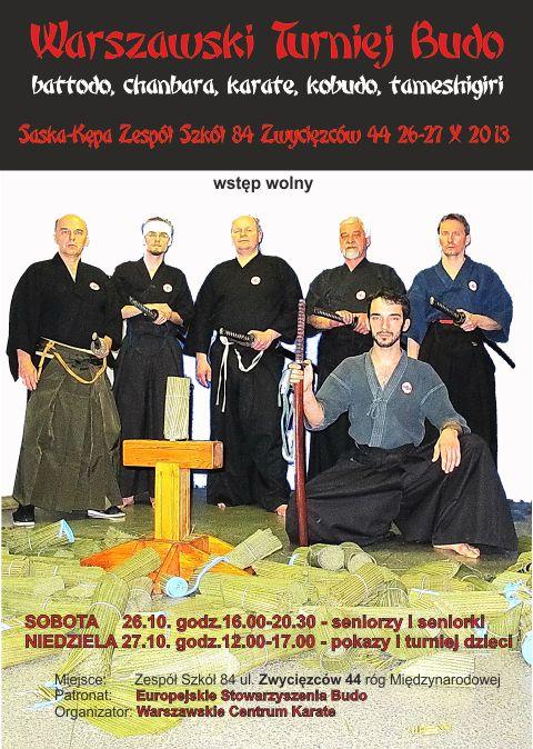 turniej karate budo sztuk walki warszawa