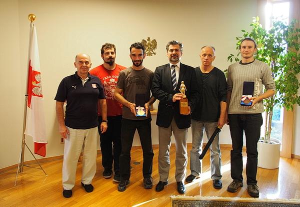 ambasada RP Tokio mistrzowie sportowego kenjutsu