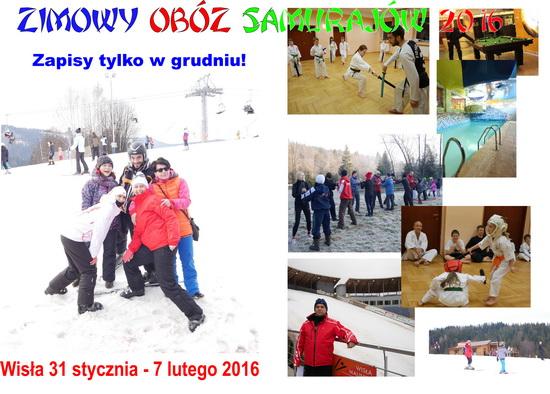 Zimowy Obóz Samurajów 2016