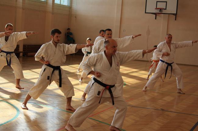 seminarium karate Brodnica hanshi Tomasz Piotrkowicz