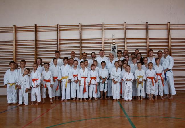 seminarium karate Brodnica hanshi Tomasz Piotrkowicz 07