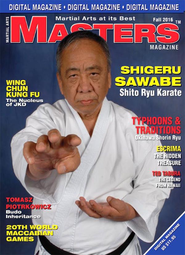 Hanshi Piotrkowicz w Masters Magazine