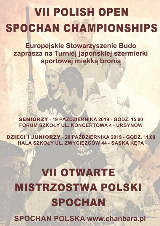 mistrzostwa polski spochan szermierki samurajskiej