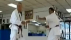 Karate sweeps with Val Mijailovic 3/4