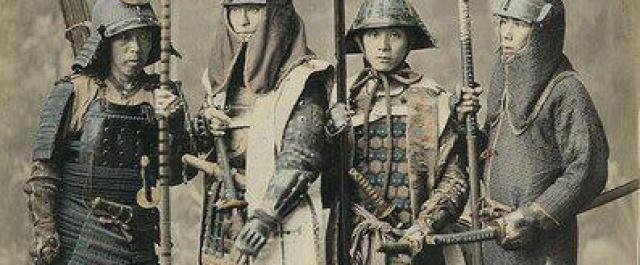 Wystawa mieczy samurajskich