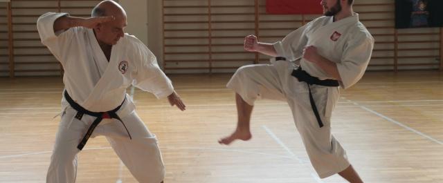 Egzaminy, film z Warsaw Karate Open