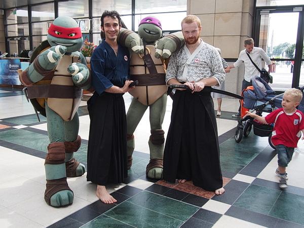 wojownicze żółwie ninja nauka karate dzieci