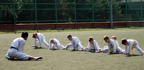 trening karate dla dzieci mokotów