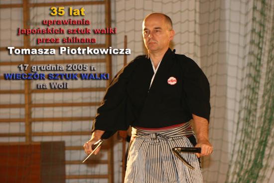 mistrz karate Tomasz Piotrkowicz