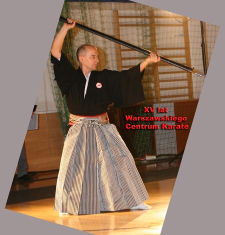 naginata samuraj Warszawa