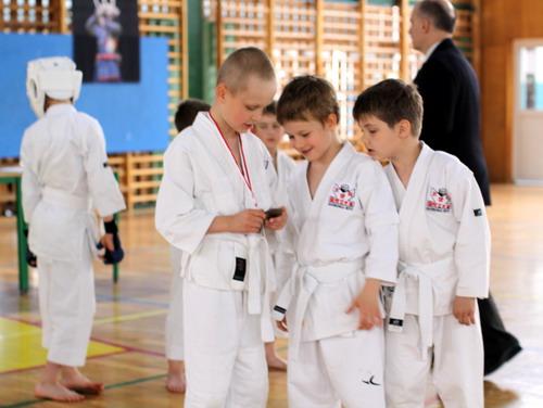 sportowe karate dzieci