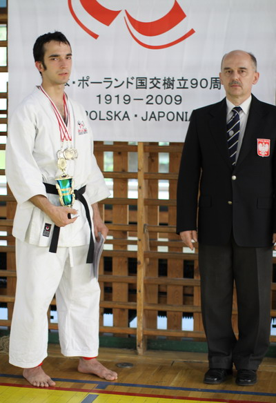 mistrz Polski karate gosoku-ryu
