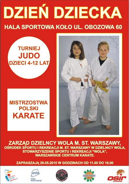 sportowe karate judo dzieci