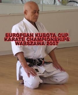 Kubota mistrzostwa karate