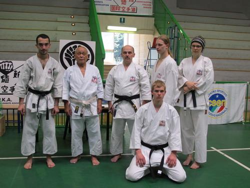 mistrz karate Kubota turniej mistrzów