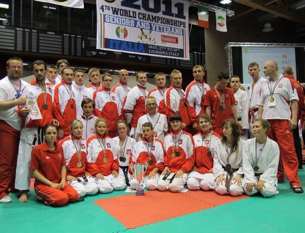 sukces polskich karateków WUKF
