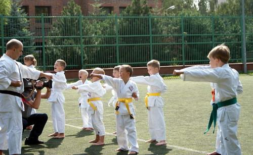 nauka karate dla dzieci Mokotów