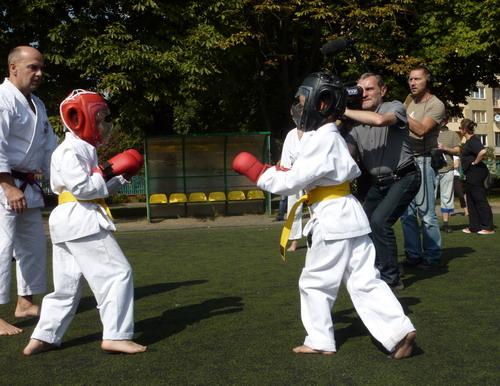 nauak karate dzieci Praga