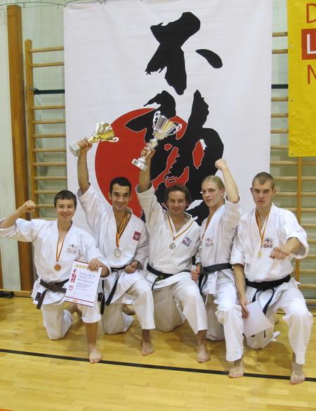 drużyna karate Gosoku Ryu