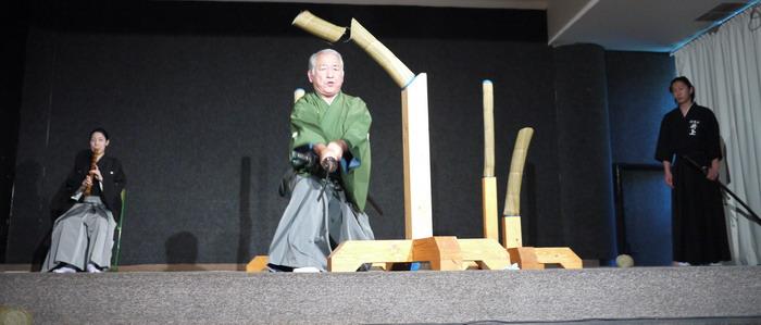 pokazy budo, sztuk walk,i tai kai batto, kenjutsu, nakagawa sensei