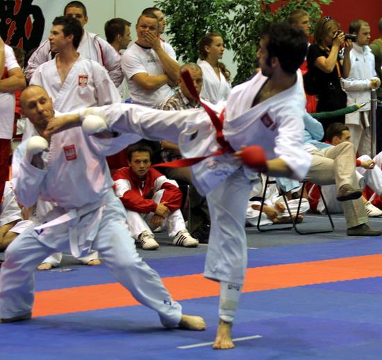 kumite michał piotrkowicz karate gosoku-ryu