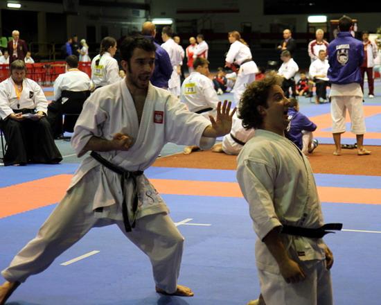 enbu karate pojedynek