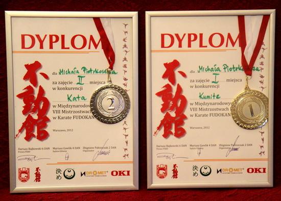 mistrz Polski karate