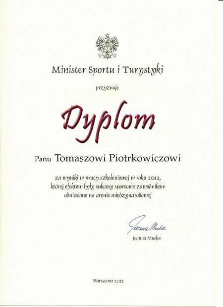 nagroda ministra sportu karate