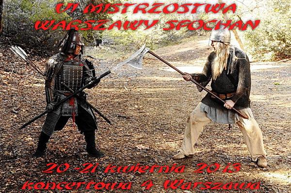 zawody karate chanbara walki miękką bronią