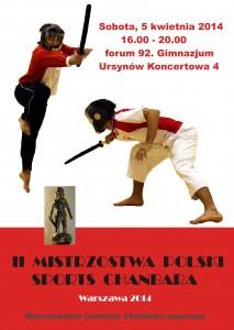 mistrzostwa Polski sport chanbara szermierka miękką bronią