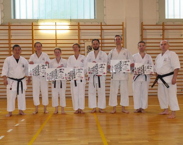dan karate examination