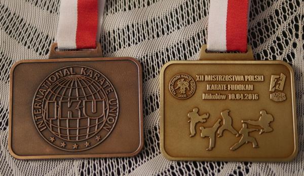 mistrzowie Polski karate