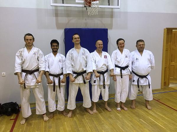 egzamin dan karate 1
