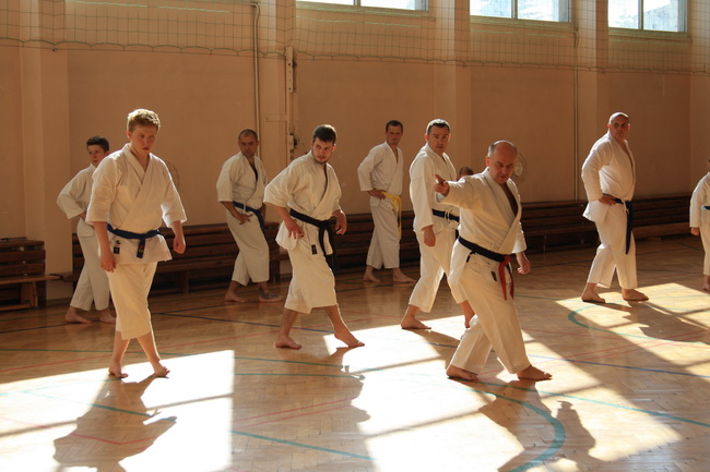seminarium karate Brodnica hanshi Tomasz Piotrkowicz 05