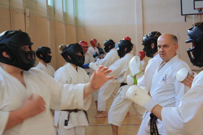 seminarium karate Brodnica hanshi Tomasz Piotrkowicz 06