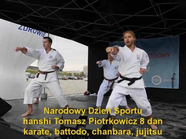 pokaz karate Warszawskie Centrum Karate Stadion Narodowy 2016