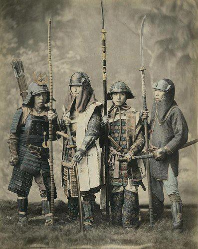 samuraje w dawnych latach