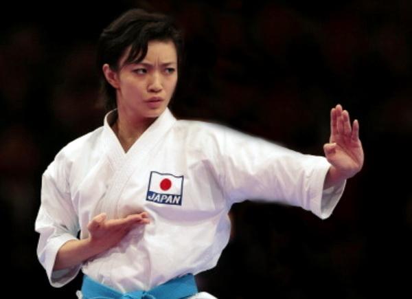 rika Usami mistrzyni karate