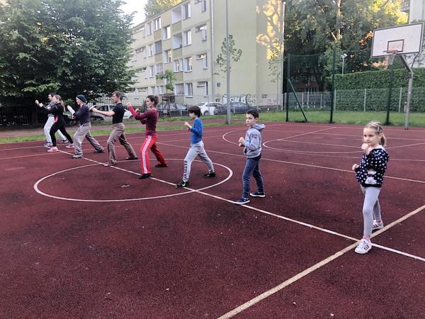 trening karate dla dzieci Saska Kępa